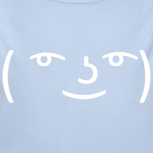 Le Lenny Face or Le Face Face hipster meme Pullover & Hoodies - Baby Bio-Langarm-Body