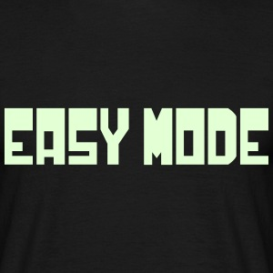 Easy Mode T-Shirts - Men's T-Shirt