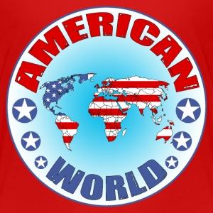 american world Shirts - Teenage Premium T-Shirt