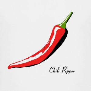 Chili Pepper For White Shirts Shirts - Teenage Premium T-Shirt