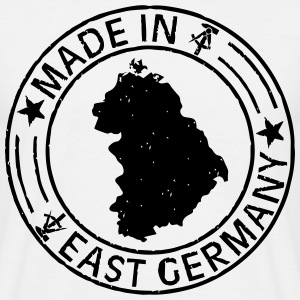 Made in East Germany Stempel Shirt - Männer T-Shirt