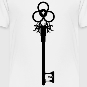 Nøgle / Key / Old Key  T-shirts - Teenager premium T-shirt