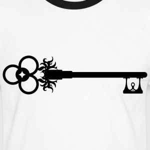 Key / Old Key  T-Shirts - Men's Ringer Shirt