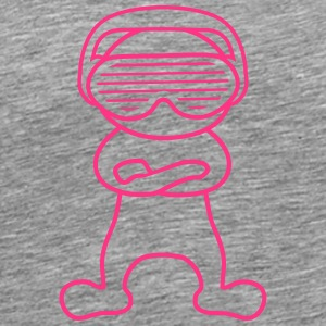 Party Music Man T-shirts - Premium-T-shirt herr