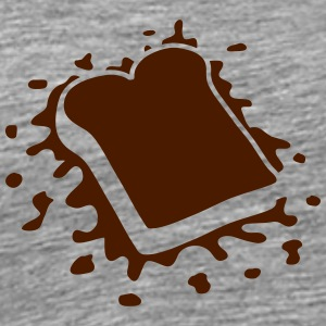 Dead Toast On The Ground T-shirts - Mannen Premium T-shirt