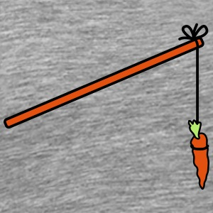 Carrot Fishing T-shirts - Premium-T-shirt herr