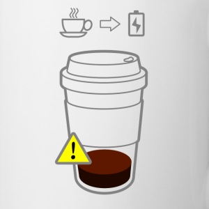 Warning Low Coffee - Mugg