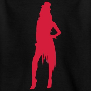 Sexy Showgirl Stripperin Lapdance 1c T-Shirts - Teenager T-Shirt