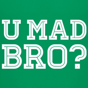 Like a cool you mad geek story bro typography T-shirts - Teenager premium T-shirt