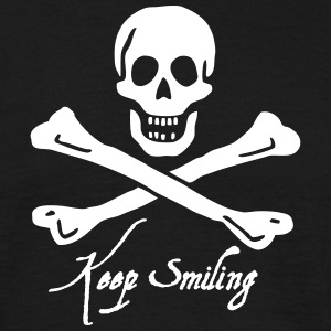 ~ keep smiling ~ T-Shirts - Männer T-Shirt