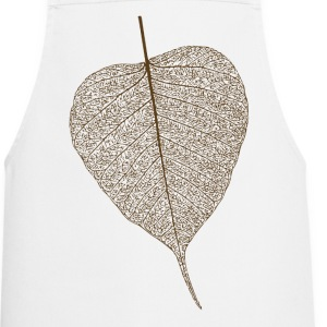 leaf tree forest skeleton pattern nerve love heart  Aprons - Cooking Apron