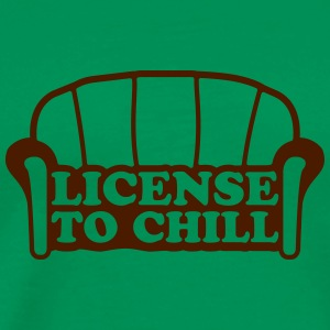 Lizense To Chill T-Shirts - Men's Premium T-Shirt