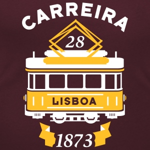 Lisbon Electric tram - Women's Scoop Neck T-Shirt