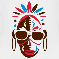 African mask with sunglasses Shirts