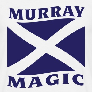 White Murray Magic Men's Tees - Men's T-Shirt