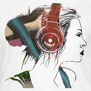 girl on fire - Frauen T-Shirt