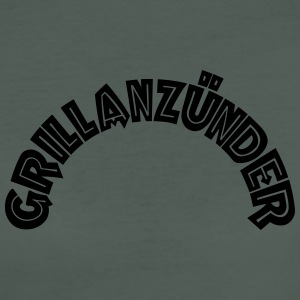 Grillanzünder Text T-Shirts - Frauen Bio-T-Shirt
