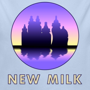 New Milk Skyline Sweats - Body bébé bio manches longues
