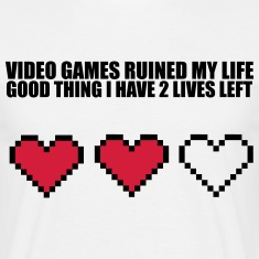 Extra Lives T-Shirts