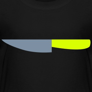 Messer / Küchenmesser / Cuts like a knife 2c T-Shirts - Kinder Premium T-Shirt