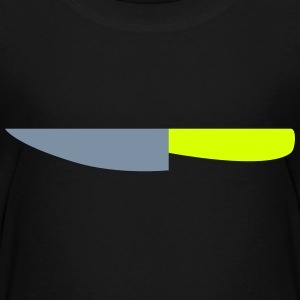 Kitchen Knife / Cuts like a knife 2c Shirts - Teenage Premium T-Shirt