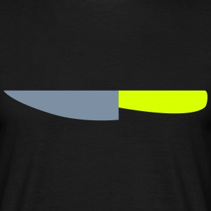 Messer / Küchenmesser / Cuts like a knife 2c T-Shirts - Männer T-Shirt