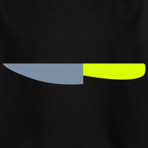 Kitchen Knife / Cuts like a knife 2c Shirts - Teenage T-shirt