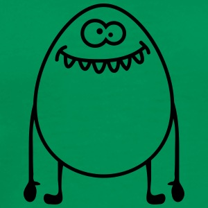 Egg Monster T-skjorter - Premium T-skjorte for menn