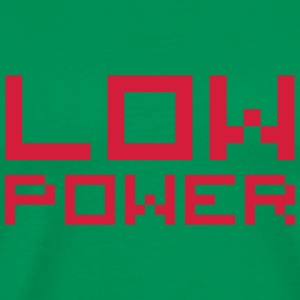Low Power T-shirts - Mannen Premium T-shirt