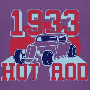 classic Hot Rod from 1933 T-shirts - Børne premium T-shirt