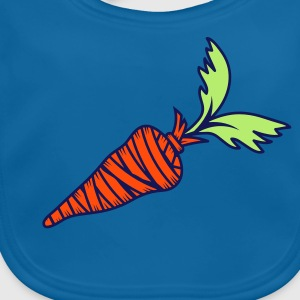 wrapped carrot Accessories - Baby Organic Bib