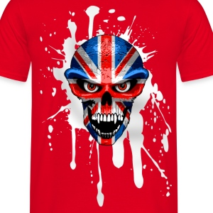 united kingdom skull T-Shirts - Men's T-Shirt