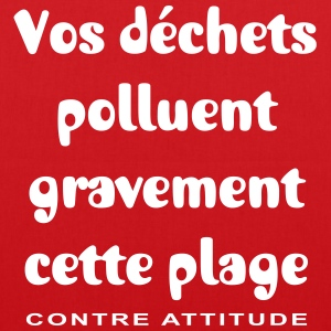 ANTI-POLLUTION DES PLAGES - Tote Bag