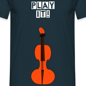 Cello Play It - Männer T-Shirt