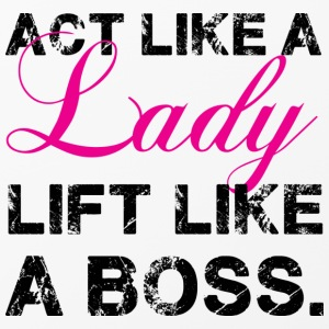 Act like a lady lift like a boss |  iPhone 4/4S co - iPhone 4/4s Hard Case