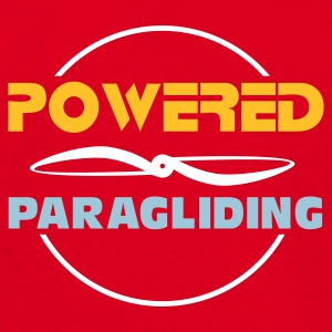 Paragliding t-shirt Powered paragliding - Männer T-Shirt