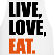 Diseño ~ Live, Love, Eat.