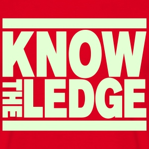 Know the Ledge T-Shirts - Men's T-Shirt