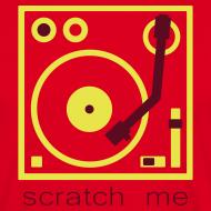 Design ~ I DJ - Scratch Me Turntable - 2 color flex