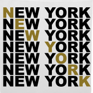 Diseño ~ New York (dorado)