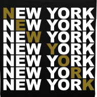 Diseño ~ New York (blanco y dorado)