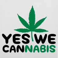 Diseño ~ Yes we cannabis (Negro y verde)