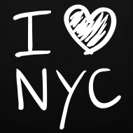 Diseño ~ I love NYC (blanco)