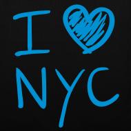 Diseño ~ I love NYC (azul)