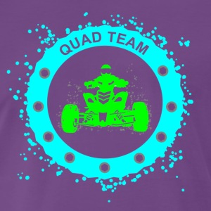 quad team T-shirts - Mannen Premium T-shirt
