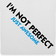 Diseño ~ not perfect, just awesome (azul)