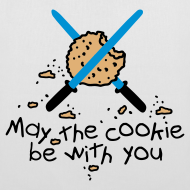 Diseño ~ May the cookie be with you (azul)