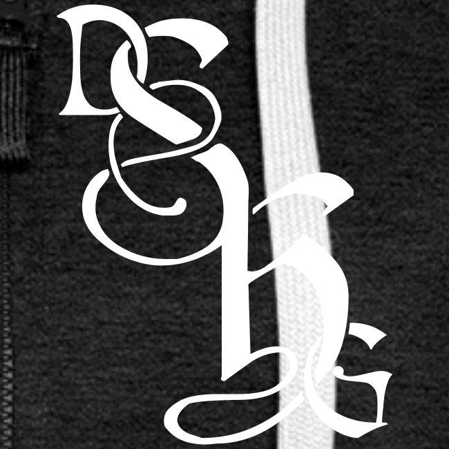 Kapuzenjacke Frauen: Logo - DSHG / Dancing Men auf Rückseite