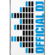Diseño ~ Funda Iphone 4/4S official DJ (azul)