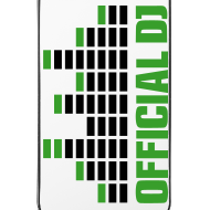 Diseño ~ Funda Iphone 4/4S official DJ (verde)